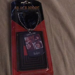 """Jewelry - NWT, Beatles """"Let it Be"""" pendant"""